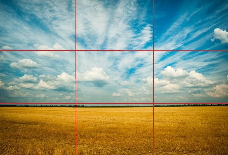 фотографы список правила композиции горизонта на фотографии стоп